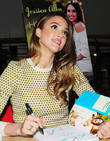 Jessica Alba signs copies of her book 'The...