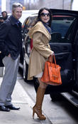 Bethenny Frankel goes to a meeting