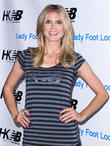 Heidi Klum, the Lady Foot Locker at Westfield Culver City