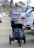 Charlize Theron and Jackson Theron