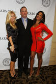 Brande Roderick, Claudia Jordan and Matt Iseman