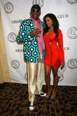 Dennis Rodman and Claudia Jordan