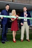 George Clarke, Melinda Messenger and John Challis