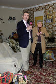 John Challis and Del Boy Lookalike
