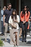 Kim Kardashian, Brittny Gastineau and Simon Huck