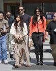 Kim Kardashian, Brittny Gastineau, Simon Huck, La Scala