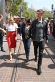Diane Kruger, Max Irons and Stephenie Meyer