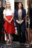 Diane Kruger and Stephenie Meyer