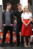Jake Abel, Diane Kruger and Max Irons