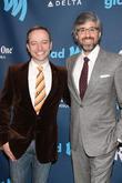 Mario Correa and Mo Rocca at the 24th Annual GLAAD Media Awards