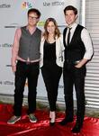 Rainn Wilson, Jenna Fischer and John Krasinksi