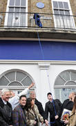 the unveiling of a blue plaque funded by the herita 170313