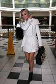 The Saturdays are seen in Bayswater after a TV appearance and  enjoy lunch at Pizza Express.