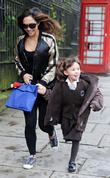 Myleene Klass and Daughter Ava