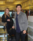 Orlando Bloom arrives at Ataturk Airport