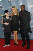Joel Madden, Delta Goodrem and Seal