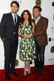 Diogo Morgado, Roma Downey and Mark Burnett