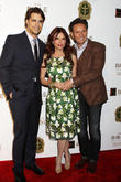 Diogo Morgado, Roma Downey and Mark Burnett