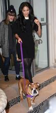 Nicole Scherzinger and Roscoe