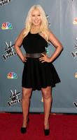Christina Aguilera - Screening Of Nbcs...