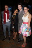 Joshua Sasse, Leah Gibson, Thandie Newton and Matthew Beard