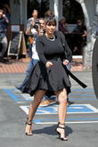 Kim Kardashian and Robin Antin lunch