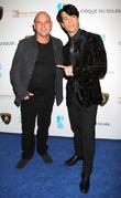 Criss Angel and Guy Laliberte
