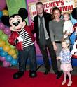 Eric Dane, Rebecca Gayheart, Georgia Dane, Billie Beatrice Dane, Disney, Madison Square Garden