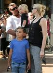 Gavin Rossdale, Gwen Stefani, Kingston Rossdale and Zuma Rossdale