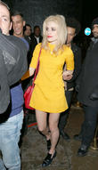 pixie lott leaving the rose club in london 230313