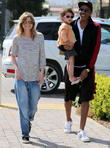 Ellen Pompeo, Chris Ivery and Stella Ivery