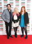 Jonathan Ross, Jane Goldman with their daughter, Empire Film Awards, Grosvenor House