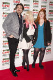 Jonathan Ross and Jane Goldman with daughter