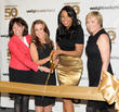 Heather Nidetch, Andrea Shapiro Davis, Jennifer Hudson and Cheryl Callan