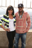 Wendy Raquel Robinson and Hosea Chanchez