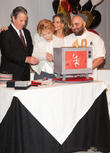 Jeanne Cooper, Melody Thomas Scott, Eric Braeden and Duff Goldman