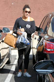 Aly Raisman - Celebrities Outside The...