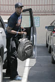 Jacoby Jones - Celebrities Outside The...