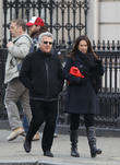 dustin hoffman and wife lisa seen walking 280313