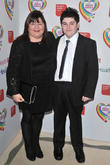 Simon Cowell, Cheryl Fergison and guest