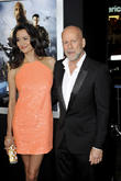 Emma Heming, Bruce Willis, Grauman's Chinese Theatre