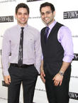 Jeremy Jordan and Michael Mott
