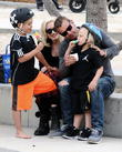 Gwen Stefani, Gavin Rossdale, Kingston Rossdale and Zuma Rossdale