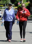 Jane Lynch On Studio City Hike