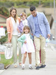 Jessica Alba, Haven Warren, Honor Warren, Cash Warren