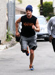 josh duhamel working out 310313