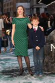 Camilla Rutherford and son