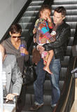 Halle Berry, Olivier Martinez and Nahla Aubry