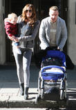 Danielle Lloyd, Danielle O'Hara, Jamie O'Hara and Harry James O'Hara