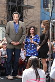 Brad Garrett, Guest and Maria Menounos